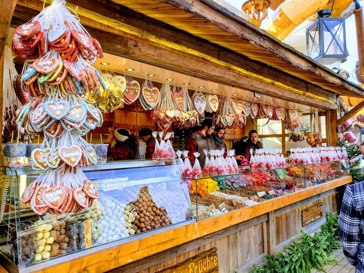 stall at the Christmas Market at the CentrO in Oberhausen