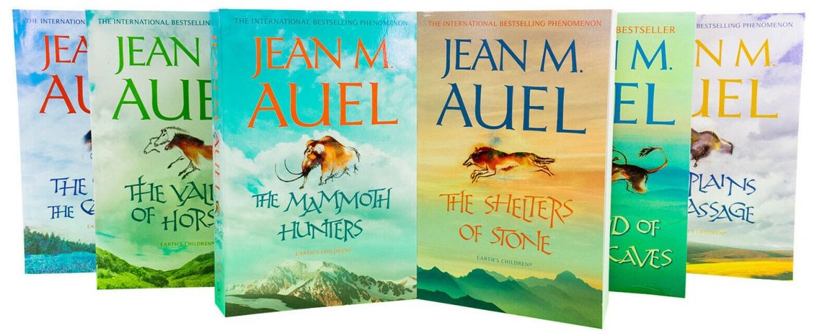 Earth's Children books by Jean M Auel
