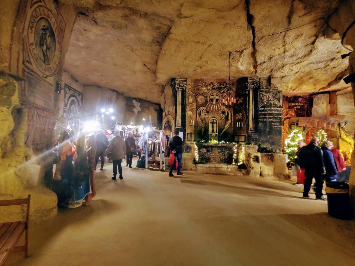 Christmas Market, Velvet Cave, Valkenburg