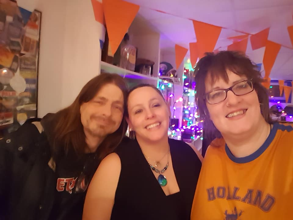 Jon and Heather on our NYE party in 2017